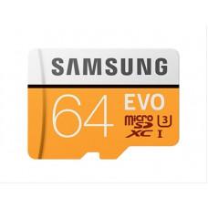 Memoria Micro SDXC 64 Gb Evo con Adaptador