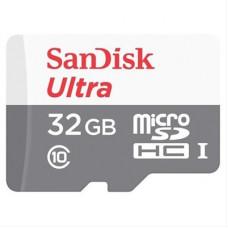 Memoria Micro SD 32 Gb SD/HC Scandisk con Adaptador Clase 10