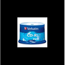 Tarrina CD-R 50 Ud Verbatim