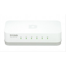 Switch 5 Puertos Gigabit 10/100/1000 D-Link