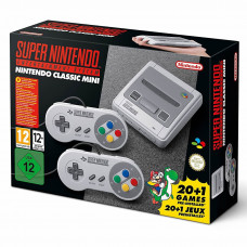 Consola Nintendo Super NES Classic Mini con 21 Juegos