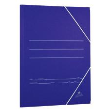 Carpeta Cartón Azul Folio