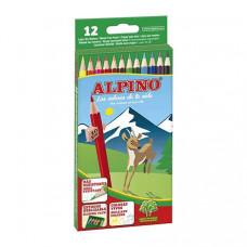Lápices de colores Alpino 12 unidades